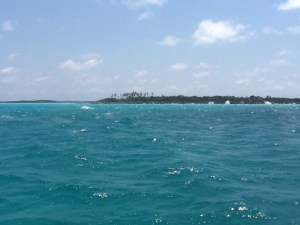 Waves at Shroud Cay