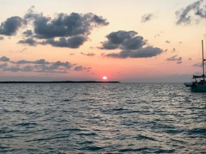 Sunrise in Marquesas Keys