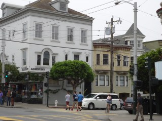 One of the most significant cross streets in history now. The Haight became the center of Flower Power because of its association with Golden Gate Park.