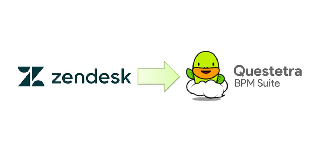 How to Collaborate Zendesk with Cloud Workflow - Questetra