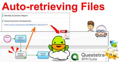 Cloud BPM v11.10 Retrieves Files Itself