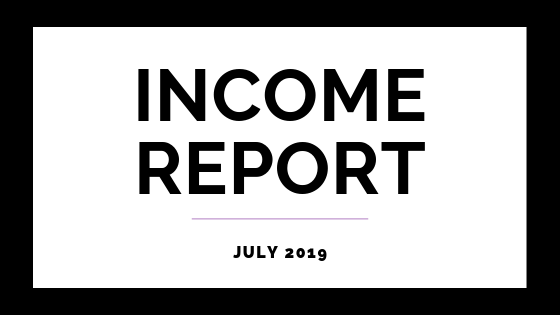July 2019 Income Report