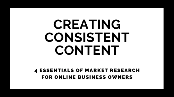 4 Essentials Of Market Research For Online Business Owners