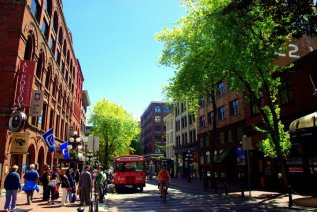 Gastown, Vancouver's first downtown core