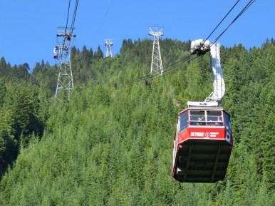 Gondola to Grouse Mountain