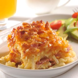 Potato Bacon Breakfast Bake