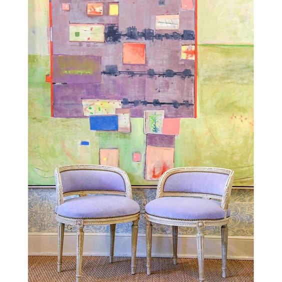 bp violet chairs
