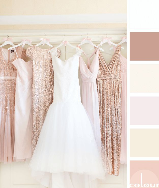 dusty pink palette