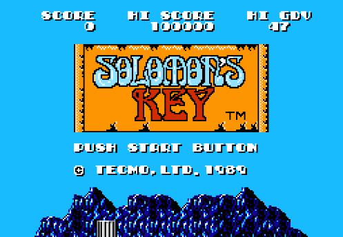 #589 – Solomon's Key