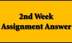 School 2nd Week Assignment Answer 2021 for Class 6,7,8 & 9