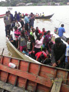 Parroquia Padre Barral, Delta Amacuro: el pueblo warao se moviloiza para votar