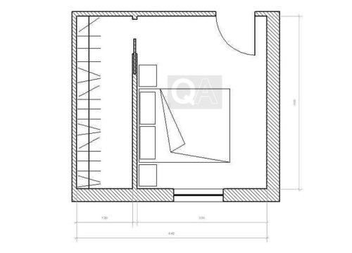 Come realizzare una cabina armadio questioni di arredamento - Cabina armadio dimensioni ...