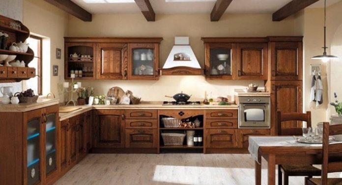 le pareti attrezzate nascono per arredare… le pareti. Cucina Classica Questioni Di Arredamento