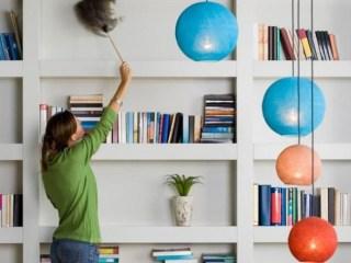 organizzare-la-libreria-pulire-libri