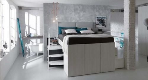 Camera da letto piccola come arredarla questioni di for Arredare una camera da letto piccola