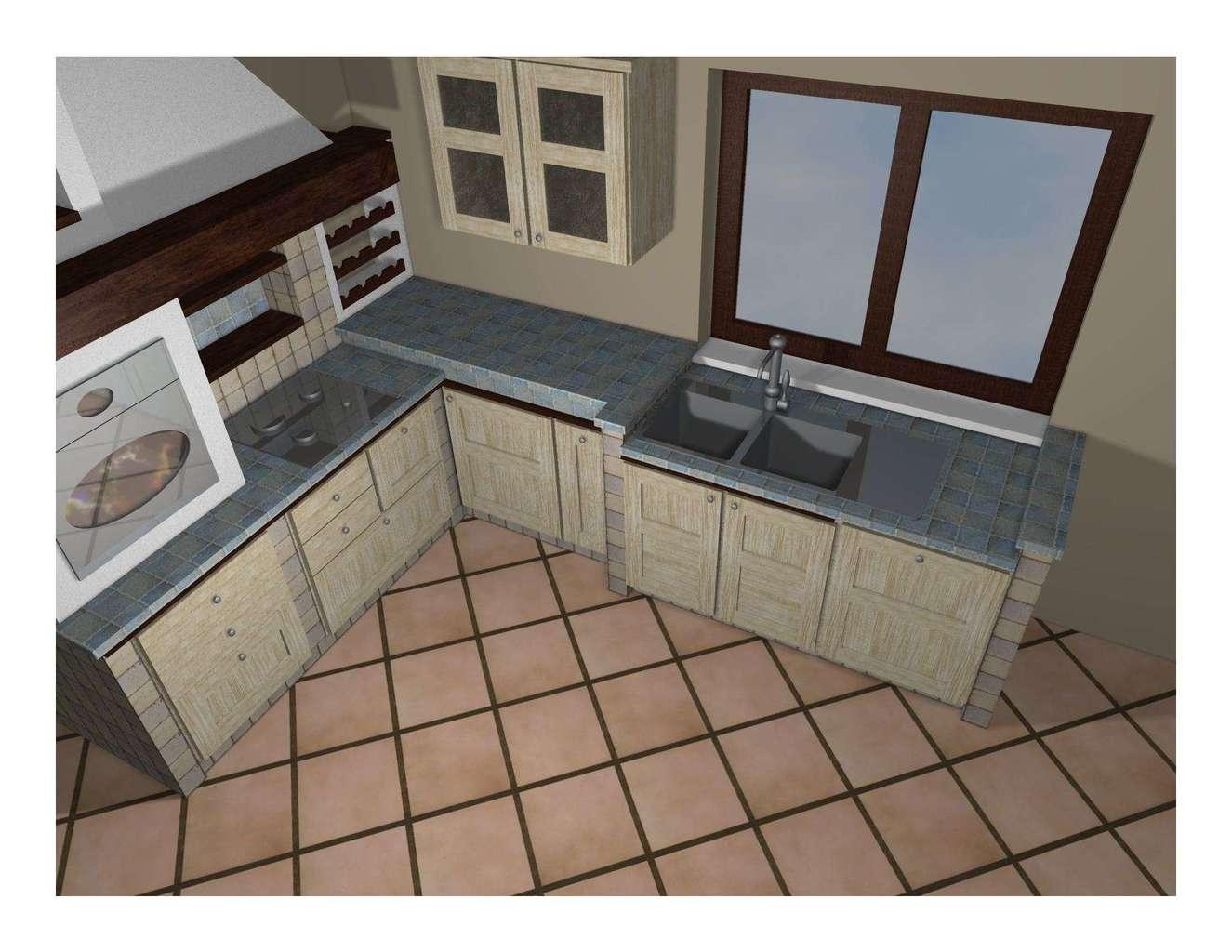 Cucina in muratura prefabbricata - Questioni di Arredamento