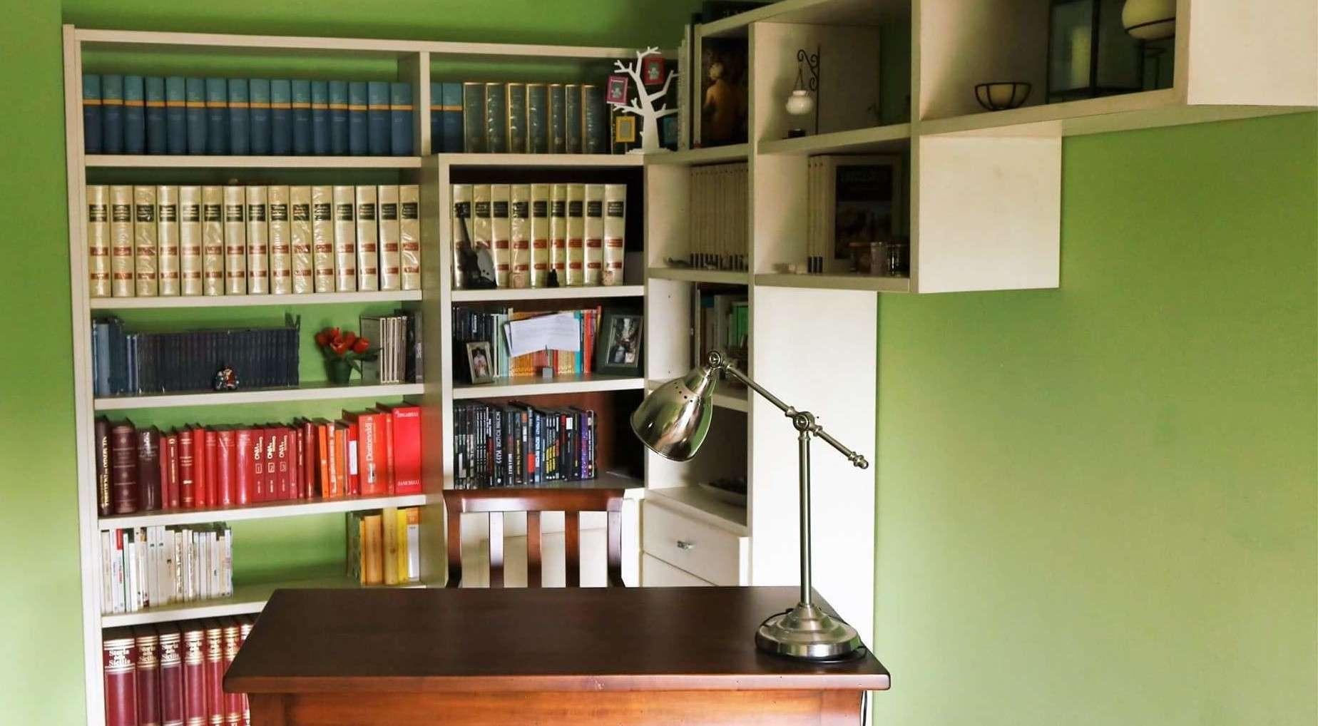 angolo studio in soggiorno - questioni di arredamento - Creare Angolo Studio In Soggiorno 2