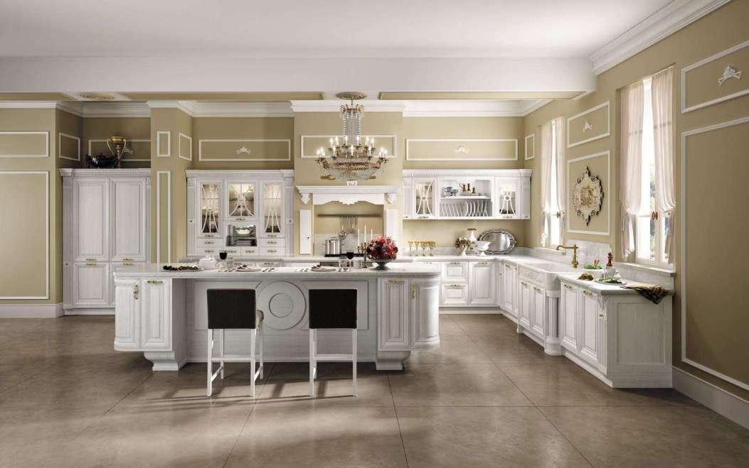 Cucina classica. - Questioni di Arredamento