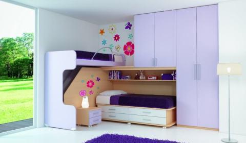 Arredare una cameretta piccola questioni di arredamento for Arredamento per piccoli ambienti