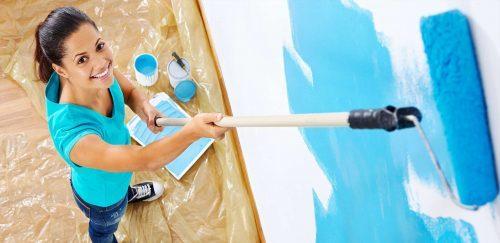 Dipingere le pareti in modo impeccabile.