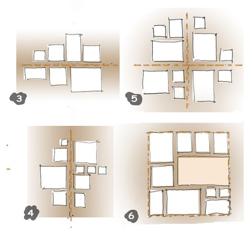 Appendere i quadri alle pareti questioni di arredamento - Quadri sopra il letto ...