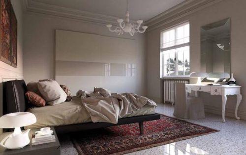 Camera Matrimoniale Stile Antico.Come Combinare Mobili Classici E Moderni Questioni Di Arredamento
