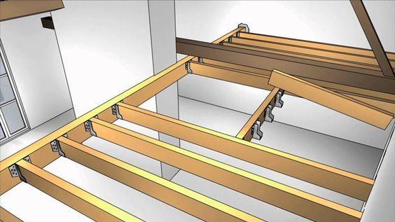 Come realizzare un soppalco in legno questioni di arredamento - Realizzare un tavolo in legno ...