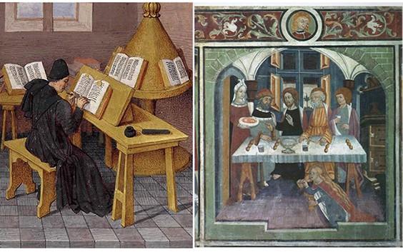 L 39 arredamento nel medioevo lo stile gotico questioni for Arredamento gotico