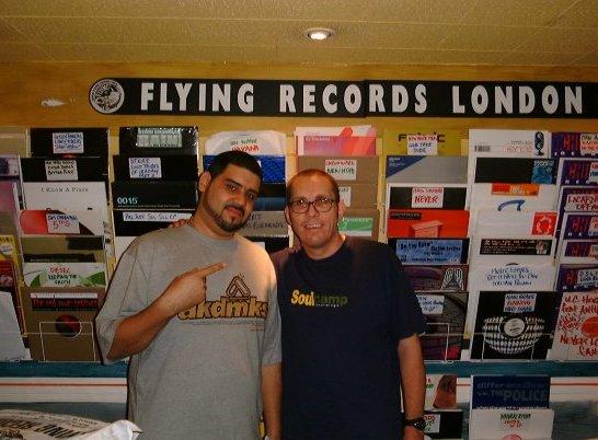 "With Kenny ""Dope"" Gonzalez (photo credit: Dr Bob Jones)"