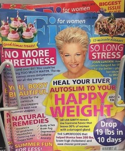 Weight Loss Dieting Magazine Cover