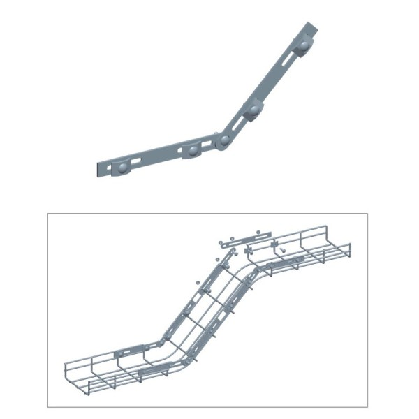 cable tray fast splicer bar
