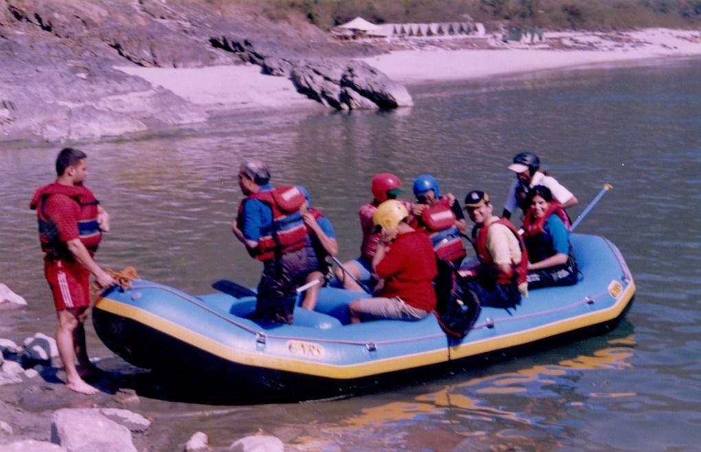 rafting adventure rishikesh