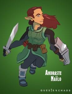 Andraste Nailo Elf Cleric