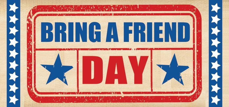 Bring A Friend Day (April 2017)
