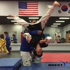 acrobatic training