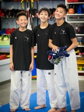 teen boys smile