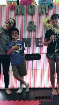 Ms. Maria, Max, and Victoria