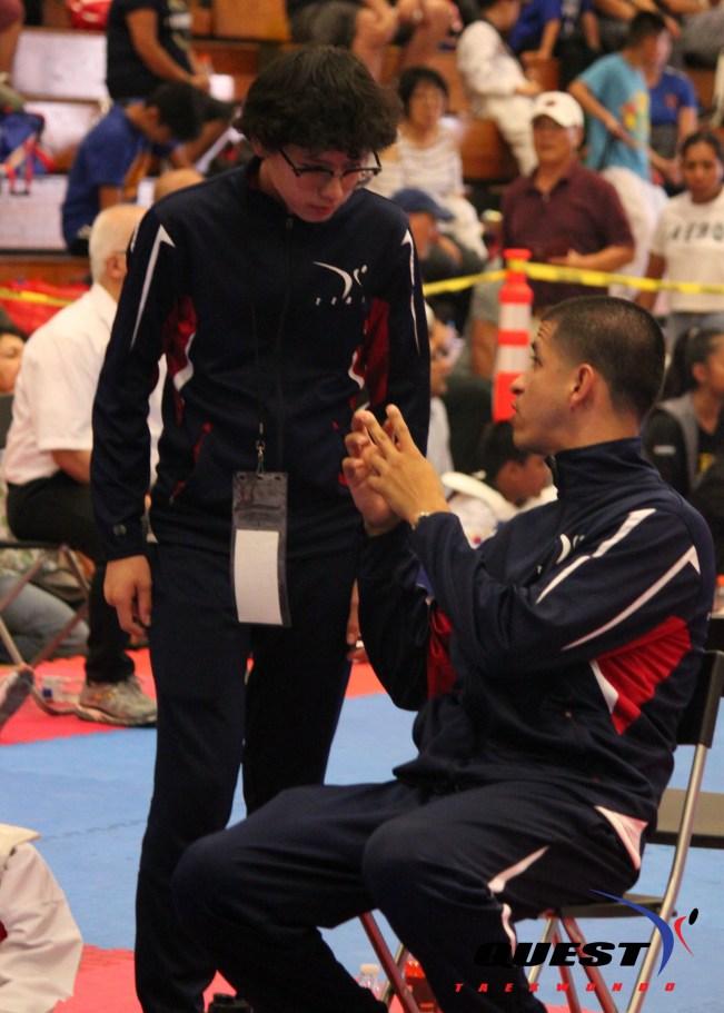 Master Gildo and Assistant Coach RJ