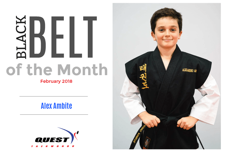Black Belt of the Month: Alex Ambite