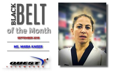 Black Belt of the Month: Maria Kaiser