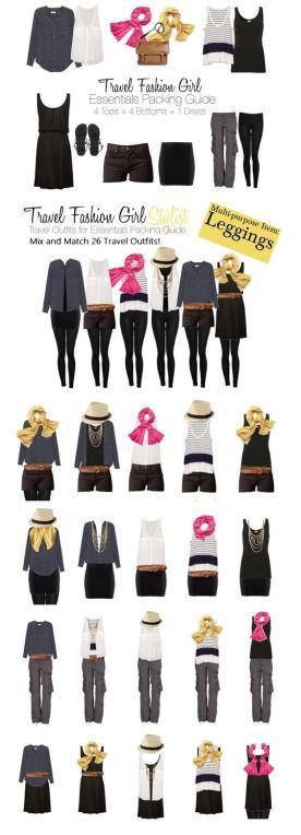 Black, blue and scarves