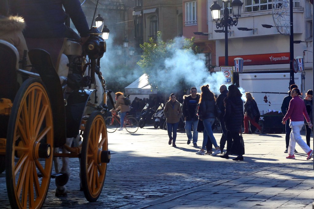 Новорічні свята в Іспанії. Смажені каштани - Севілья