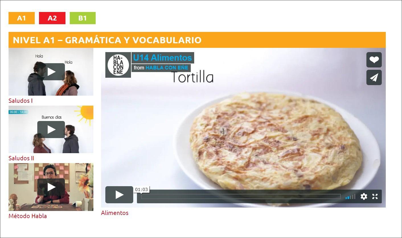 Ресурс для вивчення іспанської мови та культури Habla Cultura