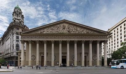 Fachada da Catedral Metropolitana de Buenos Aires. Imagem retirada do blog: Dicas da Argentina