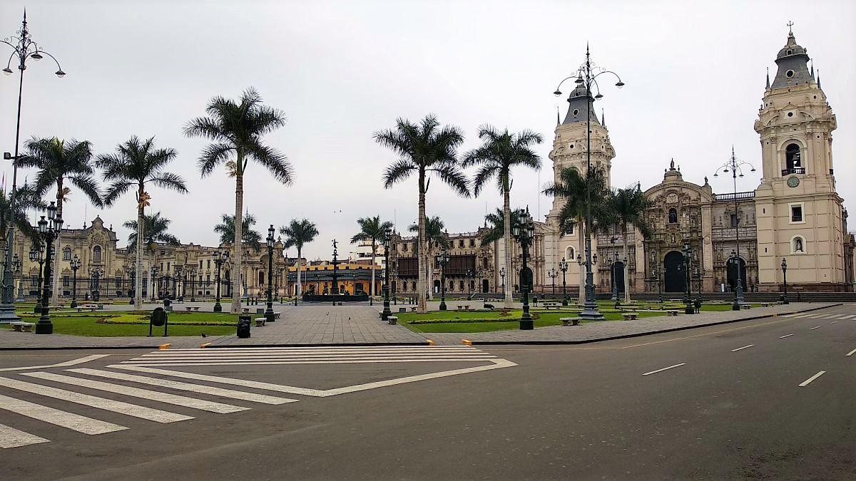 Lima - Plaza de Armas portada