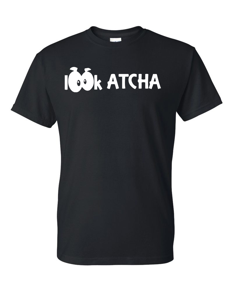 Black Lookatcha Tee
