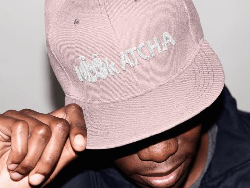 lookatcha pink cap