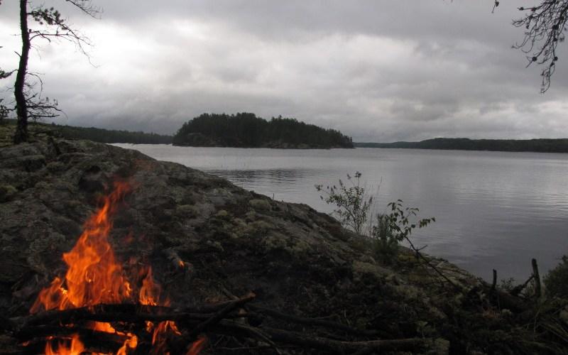 Quetico canoe route - Kasakowog lake