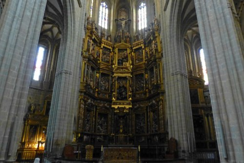 Retablo Mayor de la Catedral de Astorga