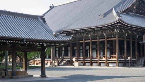 Templo Nishi Honganji en Kioto